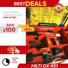 Hilti Dx 451 Power Actuated Nail Gun In Great Condition Fast Shipping