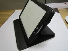 Black PU Leather 360 Rotation Carry Case Stand Folder for Motorola Xoom 2 8.2""