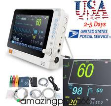 New 10 Medical Dental Patient Monitor Icu Ccu Vital Sign Cardiac Machine Fdace