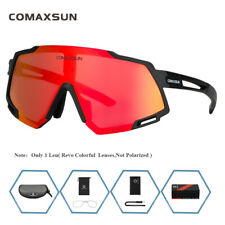 COMAXSUN Revo Color Cycling Glasses Sports Goggles Driving Fishing Sunglasses