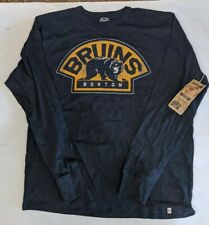 Boston Bruins 47 Brand Officially Licensed Mens Long Sleeve T-Shirt NWT  Large