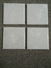"""Lot of 4 New Old Stock Ceramic Wall Tile 4-1/4"""" sqr Gold Mist #48 American Olean"""