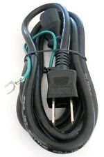 6' Japanese PC power cord,IEC to Japan 2pin cable,2 prong w/Ground wire Computer