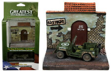 Johnny Lightning Willys Jeep MB to Bastogne resin Diorama WWII JLSP023 1/64