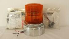 Whelen Model 1200c Strobe Light Beacon Withpsw 1 Switch Amp Rubber Base