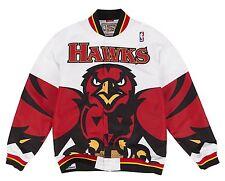 Atlanta Hawks Mitchell & Ness NBA Authentic 95-96 White Warmup Jacket Medium