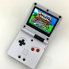 Black & White 5 Levels High Backlit V2 iPS LCD Game Boy Advance sp GBASP Console