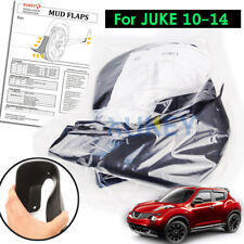 Fit For Nissan Juke 11-14 Front Rear Mudflaps Mud Flaps Mudguards Splash Guards