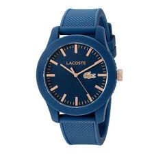 New Lacoste Men's 12.12 Analog Display Japanese Quartz Blue Watch 2010817
