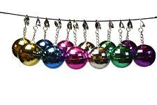 12 Pair Disco Ball Earrings