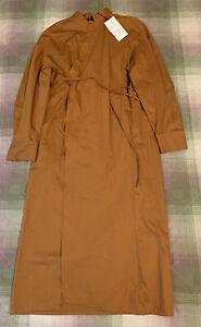 Zara Wrap Midi Dress TRF. Size XL