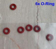 6 O-Ringe, Dichtringe für Kaffeemaschinen De Longhi NESPRESSO EN95.S, EN90, EN97