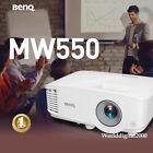 BENQ MW550 WXGA 1280 800  Business Projector Dual HDMI inputs 30 OSD Languages