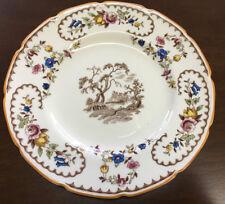 Royal Doulton The Beaufort Salad Dessert Plate Center Design V1630 Floral 80553