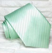 Tinta unita verde chiaro Onami Roma TOP QUALITÀ NOVITÀ Made in Italy 100% seta