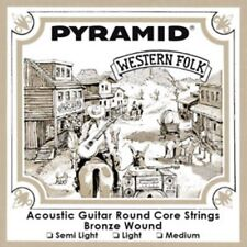 PYRAMID 12-Saiten Western Folk AKUSTIK GITARRE BRONZE Saiten SATZ Strings SET