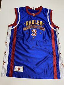 HARLEM GLOBETROTTERS Basketball Jersey Firefly Fisher #3  Youth Large