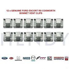 New! GENUINE FORD ESCORT RS COSWORTH BONNET VENT RETAINING CLIPS x 12 ALL YEARS