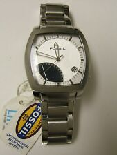 Fossil Rare FS4116 Arkitekt Stainless Steel Analog Dial Date Watch - NWT