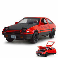 Toyota AE86 Alloy Metal Diecast Cars Model Vehicles RX7 Pull Back For Boy Toys
