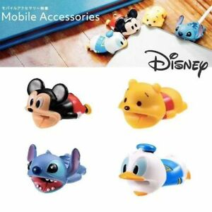 Cartoon Disney Cable Bite Accessories Protector Soft For iPhone Charger Wire