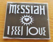 MESSIAH I Feel Love 1992 UK 4 TRACK CD SINGLE BREAKBEAT TECHNO CLASSIC DANCE