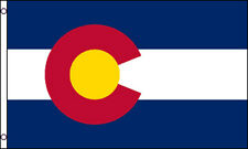3x5 Ft Colorado State Flag Us American Co Flag - Nylon f