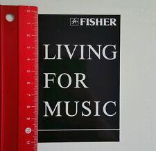 ADESIVI/Sticker: Fisher Living for music (180616169)
