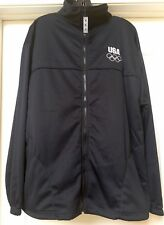 USA Olympic Commitee Fleece Lined Full Zippered Jacket - United States, Size XL