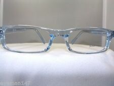 NEW SOHO BLUE CRYSTAL RECTANGULAR EYEGLASS FRAME -