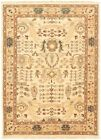 """Vintage Hand-Knotted Carpet 4'3"""" x 6'0"""" Traditional Oriental Wool Area Rug"""