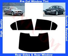 Passgenaue Tönungsfolie BMW 3er E90 Limousine4T 05-12 Heck/Seitenscheiben 5%-50%