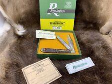 Remington 1998 Engraved  Bullet Hunter-Trader-Trapper Knife R293-SB-H-T-T Mint