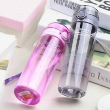 Wide Mouth Sports Bottle Unbreakable Durable Leak Proof Travel Portable Gift