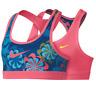 Nike Girl's PRO CLASSIC REVERSIBLE PINK/BLUE Sports Bra Training  XL