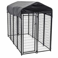 Lucky Dog Uptown Large Welded Wire Kennel Heavy Duty Pet Dog Cage Fence Pen