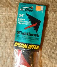 Vintage Hi Flyer Kite Nighthawk 1980's New Old Stock #FF