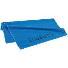 Mikrofaser Sporttuch: Extra saugfähiges Mikrofaser-Handtuch 80 x 40 cm, blau