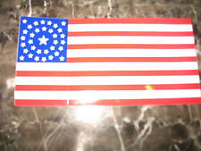Wholesale Lot of 6 Usa 34 Star Circular Historical Decal Bumper Sticker