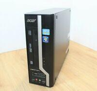 Acer Veriton X2610G Windows 10 SFF PC Intel Core i3 2nd Gen 3.3 4GB 320GB WiFi