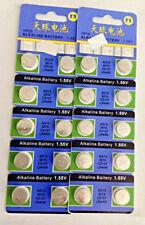 20 LR44 - AG13 Alkaline battery 1.5V SR44W Button cell coin batteries AU