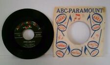 "Steve Lawrence Pretty Blue Eyes & Youre Nearer 45 RPM 7"" Vinyl Record ABC"