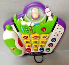 Vtech Buzz Lightyear Toy Story 3 Learning Talking Light Up Phone Disney Pixar