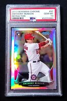 PSA 10 2013 Bowman Chrome ANTHONY RENDON REFRACTOR ROOKIE RC #97 Angels POP 8