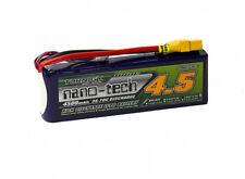 Turnigy Nano-Tech 4500mAh 3S 11.1V 35C 70C LiPo Battery XT90 FPV Multirotors USA