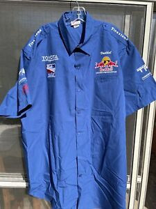 Indy Car Red Bull Cheever Crew Shirt. Size 2XL