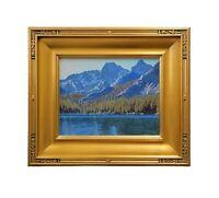 Matthew Michael Reynolds California Listed Sierra Lake Landscape Oil Painting