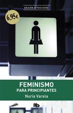 Feminismo para principiantes. NUEVO. Nacional URGENTE/Internac. económico. SOCIO