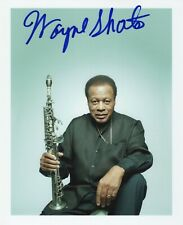 Wayne Shorter of Weather Report REAL hand SIGNED Photo #2 COA Autographed