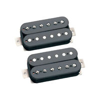 Seymour Duncan Alnico II Pro Humbucker APH-1 Neck Bridge Guitar Pickup Set Black